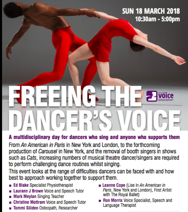 freeing the dancer's voice